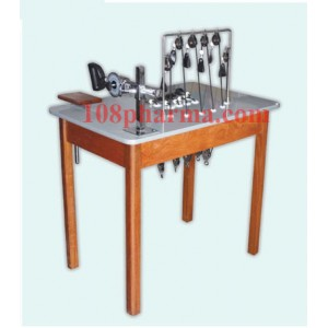 โต๊ะบริหารขา-เข่า และ โต๊ะบริหารมือ